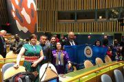 Валентин Андрейцев принимает участие в 18-й сессии Постоянного форума ООН по вопросам коренных народов