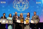 Награждение победителей конкурса «Лидеры туриндустрии Приморья»